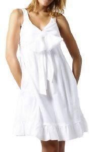 ΦΟΡΕΜΑ DKNY BOW SUMMER DRESS ΛΕΥΚΟ ένδυση  amp  υπόδηση προσφορεσ γυναικα φουστεσ φορεματα φορεματα