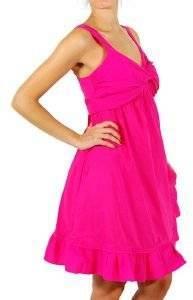 ΦΟΡΕΜΑ DKNY BOW SUMMER DRESS ΦΟΥΞΙΑ ένδυση  amp  υπόδηση προσφορεσ γυναικα φουστεσ φορεματα φορεματα