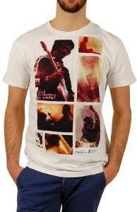 T-SHIRT WORN BY JIMI HENDRIX HAWAII COLLAGE ΛΕΥΚΟ (M)