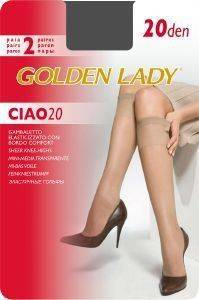 GOLDEN LADY ΤΡΟΥΑΚΑΡ (2ΤΕΜ) GAMBALETTO CIAO 20DEN FUMO (ONE SIZE)