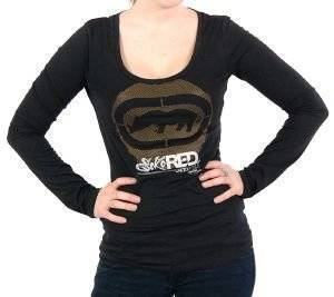 ΜΑΚΡΥΜΑΝΙΚΗ ΜΠΛΟΥΖΑ CIRCULAR CORE ECKO UNLTD ΜΑΥΡΟ ένδυση  amp  υπόδηση προσφορεσ γυναικα μπλουζεσ μπλουζεσ μακρυμανικεσ