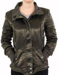 ΜΠΟΥΦΑΝ DKNY SLIT SHIMMER ΚΑΦΕ ένδυση  amp  υπόδηση προσφορεσ γυναικα μπουφαν μπουφαν