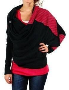 ZAKETA DKNY FINE MERINO ΜΑΥΡΗ (S) ένδυση προσφορεσ γυναικα μπουφαν ζακετεσ