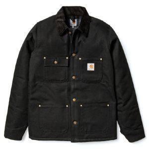 ΜΠΟΥΦΑΝ CARHARTT CHORE COAT ΜΑΥΡΟ (S) ένδυση ανδρασ μπουφαν σακακια μπουφαν