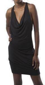 ΦΟΡΕΜΑ DKNY RAYON SEQUIN ΜΕ ΠΟΥΛΙΕΣ ΣΤΗΝ ΠΛΑΤΗ ΜΑΥΡΟ (L) ένδυση προσφορεσ γυναικα φουστεσ φορεματα φορεματα