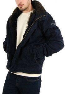 ΜΠΟΥΦΑΝ ABERCROMBIE - FITCH ΜΠΛΕ (L) ένδυση ανδρασ μπουφαν σακακια μπουφαν