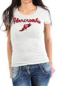 ΓΥΝΑΙΚΕΙΟ TSHIRT ABERCROMBIE AND FITCH ΓΚΡΙ (S)