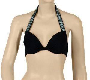 BIKINI TOP FXMONTERO CLASSIC CUT ΜΑΥΡΟ TRIBAL (38B) ένδυση  amp  υπόδηση γυναικα μαγιο bikini tops