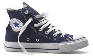 ΜΠΟΤΑΚΙ CONVERSE ALL STAR CHUCK TAYLOR HI ΜΠΛΕ ΣΚΟΥΡΟ ένδυση ανδρασ sneakers all star μποτακι