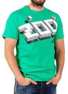 T-SHIRT ZOO YORK CUBIC ΠΡΑΣΙΝΟ