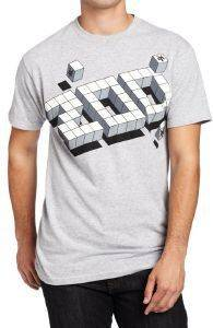 T-SHIRT ZOO YORK CUBIC ΓΚΡΙ