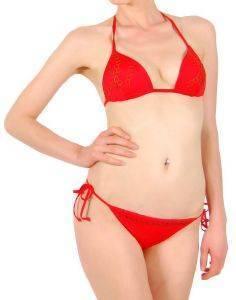 BIKINI SET F.X. MONTERO NITRO ΚΟΚΚΙΝΟ (38B) ένδυση γυναικα μαγιο bikini set