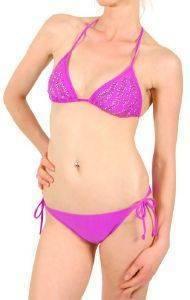 BIKINI SET CLUB NEUF ECCENTRIC ΒΙΟΛΕΤΙ (38B) ένδυση  amp  υπόδηση γυναικα μαγιο bikini set