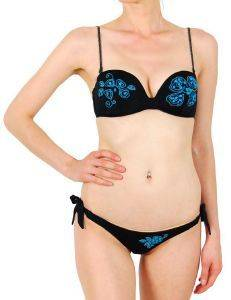 BIKINI SET F.X. MONTERO AZURE ΜΑΥΡΟ ένδυση γυναικα μαγιο bikini set