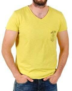 T-SHIRT STAFF JEANS DOP TOP ΚΙΤΡΙΝΟ (L)