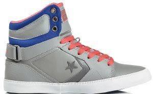 ΜΠΟΤΑΚΙ CONVERSE ALL STAR AS 12 MID LEATHER DRIZZLE/ROYA ένδυση γυναικα sneakers all star μποτακι