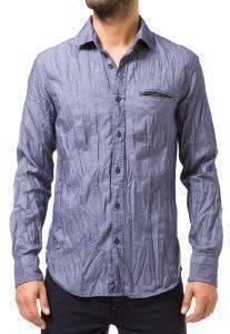 ΠΟΥΚΑΜΙΣΟ GAS SASHA ΣΚΟΥΡΟ ΜΠΛΕ Πουκάμισο GAS  Casual πουκάμισο σε σκούρο μπλε χρώμα Έχει στενή γραμμή μακριά μανίκια και κλείνει με μικρά κουμπιά κατά μήκος μία μικρή τσέπη μπροστά