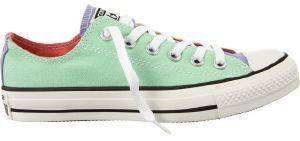 ΠΑΠΟΥΤΣΙ CONVERSE ALL STAR CHUCK TAYLOR OX PEPERMINT/YELLOW/LILA (EUR:36)