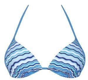 BIKINI TOP SLOGGI SWIM BLUE SEA CTOU ΓΑΛΑΖΙΟ  bikini tops