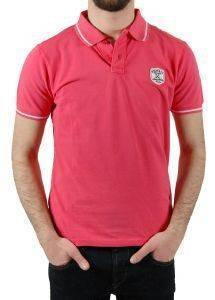 T-SHIRT POLO STAFF JEANS CALEB ΡΟΖ ένδυση ανδρασ polo t shirts polo