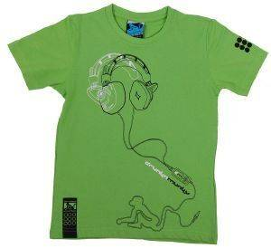 T-SHIRT DRUNKNMUNKY PHONO ΠΡΑΣΙΝΟ ένδυση  amp  υπόδηση αγορι ενδυση μπλουζεσ κοντομανικεσ