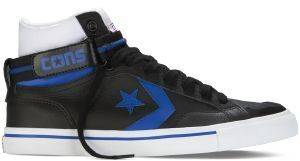 ΜΠΟΤΑΚΙ CONVERSE ALL STAR PRO BLAZE LEATHER PLUS BLACK/BLUE/WHITE