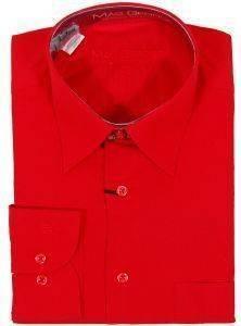ΑΝΔΡΙΚΟ ΠΟΥΚΑΜΙΣΟ MAG GEORGE KOKKINO  Πουκάμισο MG σε κόκκινο χρώμα Ένα κλασσικό πουκάμισο από εξαιρετικής ποιότητας ύφασμα με κανονική εφαρμογή Έχει μακρύ μανίκι και διακριτικό λογότυπο
