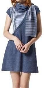 ΦΟΡΕΜΑ HELMI ΜΕ ΚΑΣΚΟΛ ΜΠΛΕ ένδυση γυναικα φορεματα casual