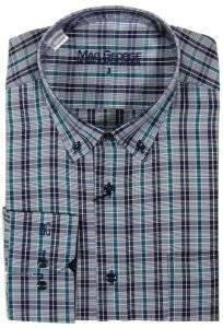 ΑΝΔΡΙΚΟ ΠΟΥΚΑΜΙΣΟ MAG GEORGE ΚΑΡΟ ΠΡΑΣΙΝΟ ΜΑΥΡΟ  Πουκάμισο MG με καρό σχέδιο σε πράσινο μαύρο χρώμα Πρόκειται για ένα casual πουκάμισο από εξαιρετικής ποιότητας ύφασμα κανονική εφαρμογή Έχει και μία