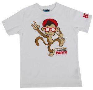 T-SHIRT DRUNKNMUNKY PARTY ΛΕΥΚΟ ένδυση  amp  υπόδηση αγορι ενδυση μπλουζεσ κοντομανικεσ