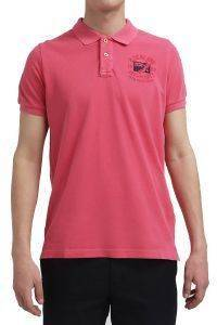T-SHIRT POLO NEW ZEALAND 15BN151 ΚΟΚΚΙΝΟ