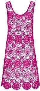 ΦΟΡΕΜΑ ΠΑΡΑΛΙΑΣ TRIUMPH TROPICAL FLOWER DRESS ΦΟΥΞΙΑ ένδυση γυναικα ρουχα θαλασσησ φορεματα