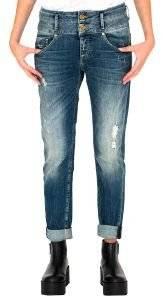 JEANS STAFF IRENE BOYFRIEND 5-983.194.B2 ΑΝΟΙΧΤΟ ΜΠΛΕ ένδυση γυναικα jeans boyfriend