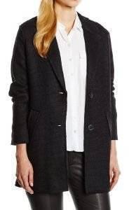 ΠΑΛΤΟ NUMPH ANNA ΜΑΥΡΟ ένδυση γυναικα μπουφαν παλτο