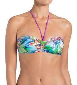 BIKINI TOP SLOGGI SWIM VIVID BRAZIL CTOWP 02 ΠΟΛΥΧΡΩΜΟ  bikini tops