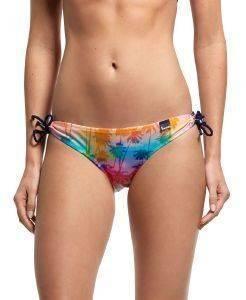 BIKINI BRIEF SUPERDRY RAINBOW PALM TANGA ΠΟΛΥΧΡΩΜΟ ένδυση  amp  υπόδηση γυναικα μαγιο bikini briefs