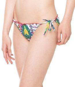BIKINI BRIEF DESIGUAL LENA TANGA ΛΕΥΚΟ ένδυση  amp  υπόδηση γυναικα μαγιο bikini briefs