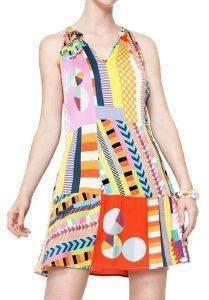 ΦΟΡΕΜΑ DESIGUAL BY LACROIX MARIA MINI ΠΟΛΥΧΡΩΜΟ ένδυση  amp  υπόδηση γυναικα φορεματα βραδυνα