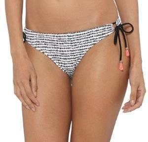 BIKINI BRIEF TOMMY HILFIGER GALI TANGA ΜΑΥΡΟ/ΛΕΥΚΟ ένδυση  amp  υπόδηση γυναικα μαγιο bikini briefs