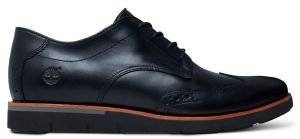 ΠΑΠΟΥΤΣΙ TIMBERLAND PRESTON HILLS BROGUE CA16T7 ΜΑΥΡΟ