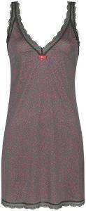 ΝΥΧΤΙΚΟ TRIUMPH CHEMISES AW16 NDK SLIPDRESS PRINT ΓΚΡΙ  γυναικα homewear νυχτικα