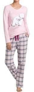 ΠΥΤΖΑΜΑ TRIUMPH SETS AW16 PK BEAR ΡΟΖ  γυναικα homewear σετ πυτζαμεσ