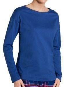 TOP TRIUMPH MIX - MATCH AW16 LSL KIMONO ΕΝΤΟΝΟ ΜΠΛΕ  γυναικα homewear tops
