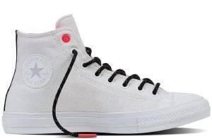 ΜΠΟΤΑΚΙ CONVERSE ALL STAR CHUCK TAYLOR II HI 153534C WHITE/LAVA/GUM ένδυση ανδρασ sneakers all star μποτακι
