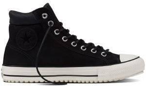 ΜΠΟΤΑΚΙ CONVERSE ALL STAR CHUCK TAYLOR ALL STAR 153675C ALMOST BLACK/EGRET/BLACK ένδυση ανδρασ sneakers all star μποτακι