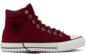 ΜΠΟΤΑΚΙ CONVERSE ALL STAR CHUCK TAYLOR PC HI 153677C RED BLOCK/EGRET/BLACK