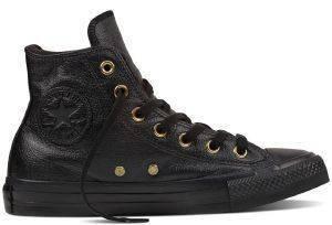 ΜΠΟΤΑΚΙ CONVERSE ALL STAR CHUCK TAYLOR WINTER KNIT-FUR HI 553365C BLACK ένδυση  amp  υπόδηση γυναικα sneakers all star μποτακι