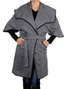 ΠΑΛΤΟ HELMI ΖΑΚΑΡ ΜΑΥΡΟ ένδυση γυναικα μπουφαν παλτο