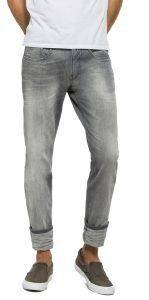 JEANS REPLAY ANBASS SLIM M914  .000.21C 968 ΓΚΡΙ