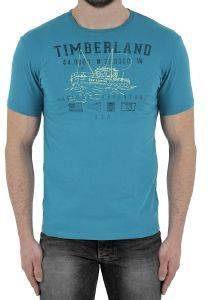 T-SHIRT TIMBERLAND NAUTICAL CA1S21E54 ΜΠΛΕ